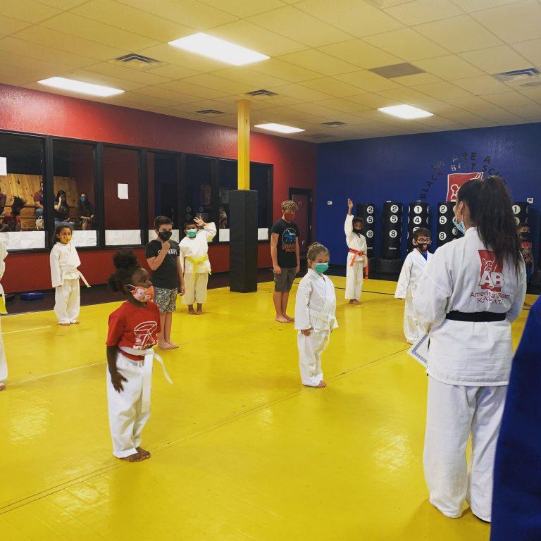 Martial arts, dojo, class, children